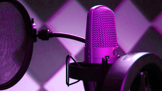 Commercial voice over for hire